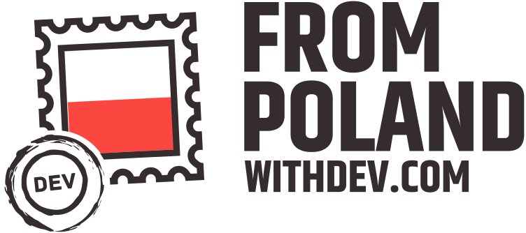 Logo From Poland With Dev